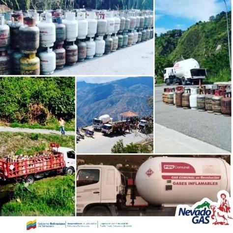 Diario Frontera, Frontera Digital,  NEVADO GAS, Regionales, ,Nevado Gas continúa desplegado distribuyendo GLP entre sus usuarios