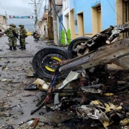 Diario Frontera, Frontera Digital,  ATAQUE EN COLOMBIA, Internacionales, ,Misión ONU condena ataque explosivo que dejó 16 heridos en Colombia