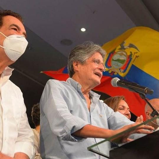Diario Frontera, Frontera Digital,  GUILLERMO LASSO, ECUADOR, Internacionales, ,Guillermo Lasso, presidente electo del Ecuador,  con el 97% de votos escrutados por el CNE