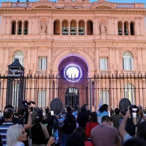 Diario Frontera, Frontera Digital,  CASA ROSADA, Internacionales, ,Protestan en Buenos Aires contra nuevas medidas por covid-19