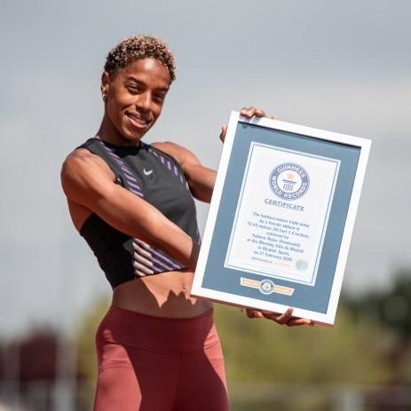 Diario Frontera, Frontera Digital,  YULIMAR ROJAS, Deportes, ,Yulimar Rojas entró al récord Guinness por salto triple más lejano