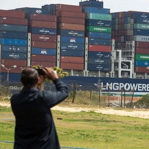 Diario Frontera, Frontera Digital,  CANAL DE SUEZ, Internacionales, ,El Canal de Suez pedirá más de USD 1.000 millones en compensación  por las pérdidas debido al bloqueo del 'Ever Given'