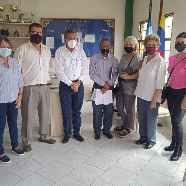 Diario Frontera, Frontera Digital,  FUNDAHOVIG, Panamericana, ,Gobernador Ramón Guevara escuchó proyectos  expuestos por nueva directiva de Fundahovig