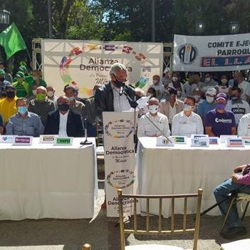 Diario Frontera, Frontera Digital,  ALIANZA DEMOCRÁTICA EN MÉRIDA, Politica, ,Fue presentada la Alianza Democrática en Mérida