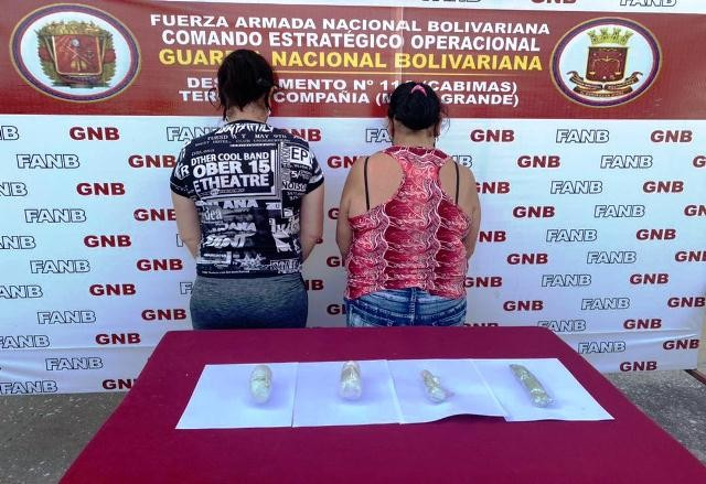 Diario Frontera, Frontera Digital,  DETENIDAS POR TRÁFICO DE DROGAS, Sucesos, ,GNB CAPTURÓ A DOS CIUDADANAS TRAS INCAUTARLE  COCAINA  EN ENVOLTORIOS INTRAVAGINALES