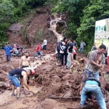 Diario Frontera, Frontera Digital,  TÁCHIRA, Nacionales, ,Táchira | Tres municipios quedan incomunicados  por derrumbes provocados tras fuertes lluvias
