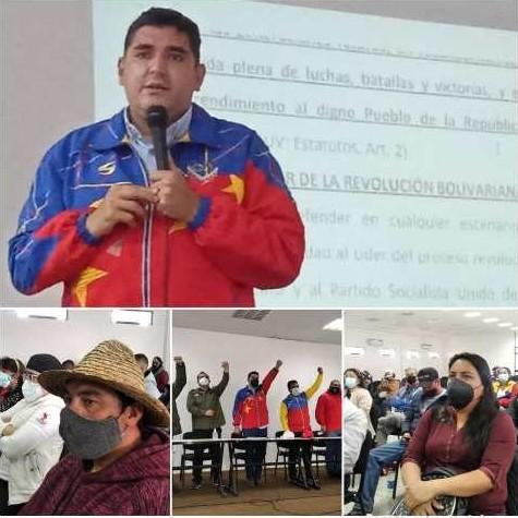 Diario Frontera, Frontera Digital,  PSUV, Politica, ,*Candidatos del PSUV deben  ser leales a la revolución a Chávez y Maduro