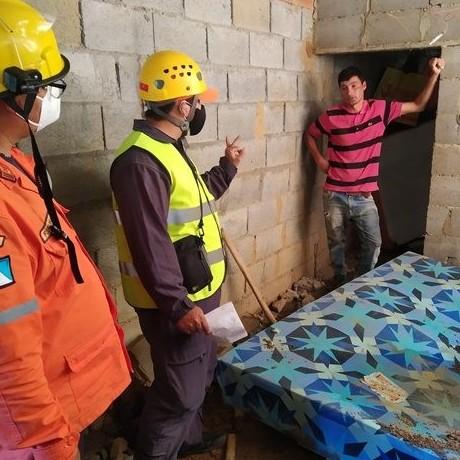Diario Frontera, Frontera Digital,  PC MÉRIDA, Sucesos, ,Protección Civil atendió a familias  afectadas por lluvias en el sector Chamita