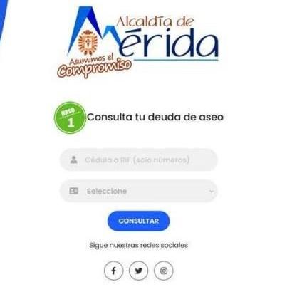 Diario Frontera, Frontera Digital,  PAGUE SUS IMPUESTOS EN LÍNEA, Regionales, ,Ya está activo el www.pagoslibertador.com  de la Alcaldía de Mérida