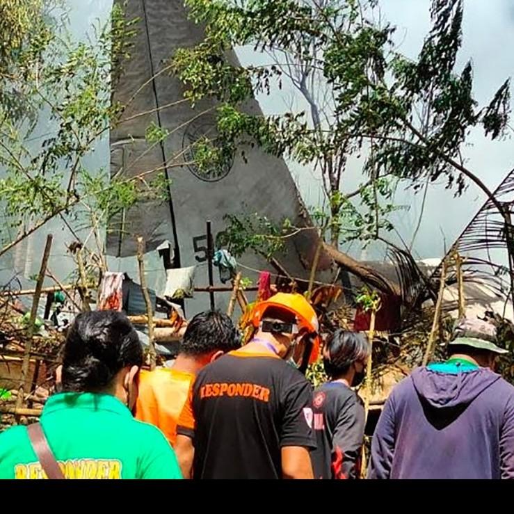 Diario Frontera, Frontera Digital,  SINIESTRO AVIÓN, FILIPINAS, Internacionales, ,Al menos 29 muertos al estrellarse un avión militar en Filipinas