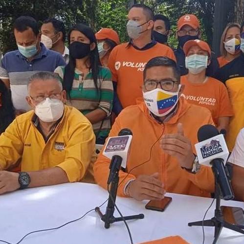 Diario Frontera, Frontera Digital,  VOLUNTAD POPULAR, Politica, ,VP Mérida rechazó la persecución  del régimen contra los dirigentes de Voluntad Popular