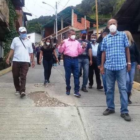 Diario Frontera, Frontera Digital,  GOBERNADOR DE MÉRIDA, Regionales, ,Gobernador Ramón Guevara escuchó  planteamientos de vecinos en Los Curos