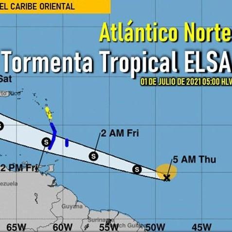 Diario Frontera, Frontera Digital,  tormenta tropical Elsa, Nacionales, ,Inameh reporta formación de tormenta tropical Elsa