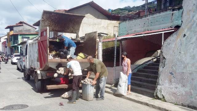 Diario Frontera, Frontera Digital,  ALCALDÍA DE ANTONIO PINTO SALINAS, Mocoties, ,Ciudadanos y empresas de Pinto Salinas  aportan combustibles para servicio de aseo urbano