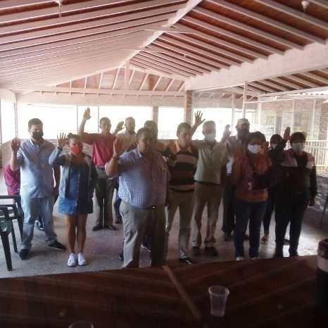 Diario Frontera, Frontera Digital,  JURAMENTADO CIOPEI EN RIVAS DÁVILA, Politica, Mocoties, ,Juramentado Comité Municipal de Copei en Rivas Dávila
