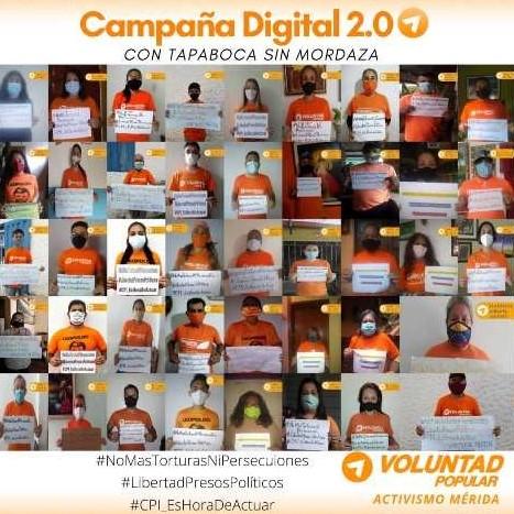 Diario Frontera, Frontera Digital,  VOLUNTAD POPULAR, VP, MÉRIDA, Politica, ,Activismo VP Mérida sigue promoviendo  el Acuerdo de Salvación Nacional
