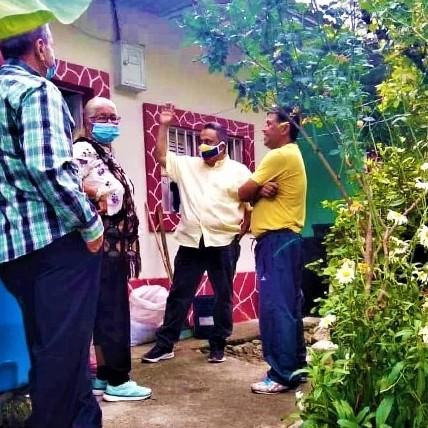 Diario Frontera, Frontera Digital,  ALEXANDER MORALES, Politica, ,Vecinos de la parroquia Jacinto Plaza  conocieron del  Proyecto Mérida Ciudad