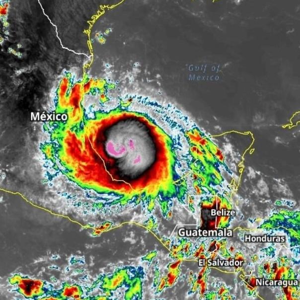 Diario Frontera, Frontera Digital,  HURACÁN GRACE, Internacionales, ,Grace toca tierra en México como huracán categoría 3