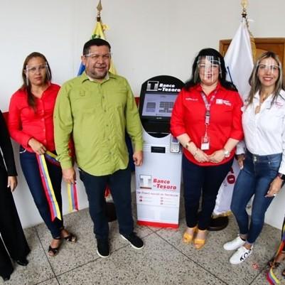 Diario Frontera, Frontera Digital,  BANCO DEL TESORO, Nacionales, ,Banco del Tesoro instaló dos kioscos comunitarios electrónicos en el oriente del país