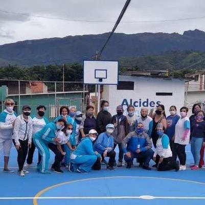 Diario Frontera, Frontera Digital,  ALCALDÍA DE MÉRIDA, DEPORTES, Deportes, ,Club de Ejercicio Salud y Bienestar celebró Jornada Cardio  en cancha rehabilitada por la Alcaldía de Mérida