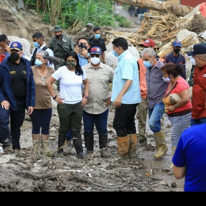 Diario Frontera, Frontera Digital,  DELCY RODRÍGUEZ, TOVAR, MÉRIDA, Regionales, ,Vicepresidenta Delcy Rodríguez contabiliza 800 viviendas afectadas tras lluvias en Mérida