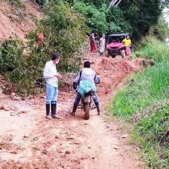 Diario Frontera, Frontera Digital,  SANTA CRUZ DE MORA, EDGAR MÁRQUEZ, Regionales, ,Es urgente la canalización de la quebrada Mejías en Santa Cruz de Mora