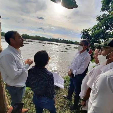 Diario Frontera, Frontera Digital,  RÍO CHAMA, SECTOR LOS NARANJOS, Panamericana, ,El gobernador de Mérida inspeccionó el río Chama en el  sector los Naranjos