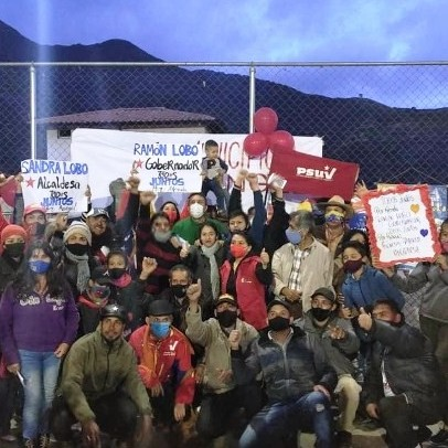 "Diario Frontera, Frontera Digital,  RAMÓN LOBO EN MUCUCHÍES, Páramo, ,Ramón Lobo: ""DESDE LO MÁS ALTO DE VENEZUELA  MILITANCIA PESUVISTA VUELVE CON CHÁVEZ"""
