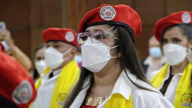 """http://fronteradigital.com.ve/Egresó  Décima promoción de Médicos Integrales Comunitarios  """"Ejercito de batas blancas por la Salud"""""""