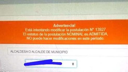 http://fronteradigital.com.ve/CNE AÚN NO HA ABIERTO EL SISTEMA PARA LA MODIFICACIÓN  Y SUSTITUCIONES DE CANDIDATOS POSTULADO