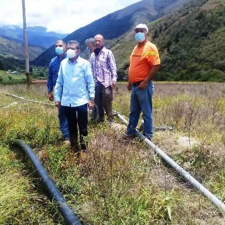 Diario Frontera, Frontera Digital,  GOBIERNO DE MÉRIDA, IMDERURAL, Regionales, ,Gobierno regional entregó sistema de riego en El Molino