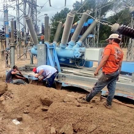 Diario Frontera, Frontera Digital,  subestación eléctrica, tovar, Mocoties, ,95% operativa está subestación eléctrica recuperada tras deslaves en Tovar