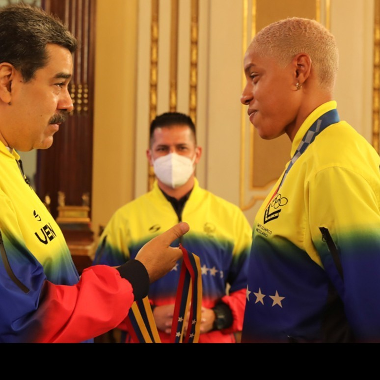 Frontera Digital, Diario Frontera, Presidente Maduro tras recibir a Yulimar Rojas:  Venezuela está en un buen momento deportivo