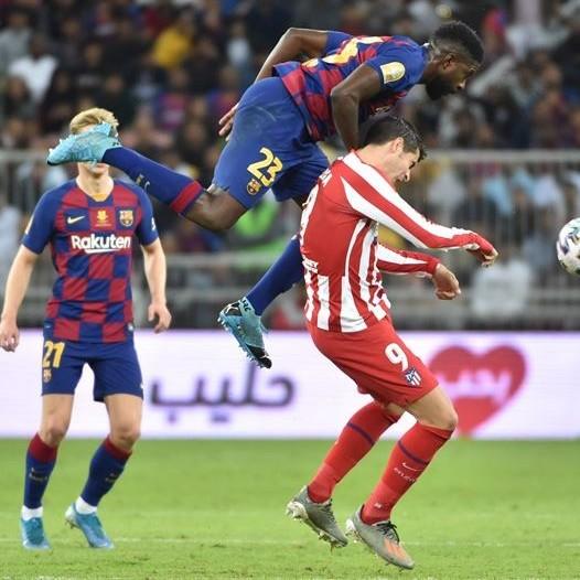 Diario Frontera, Frontera Digital,  SUPERCOPA DE ESPAÑA, Deportes, ,Atlético de Madrid está en la final de la  Supercopa de España tras batir al Barcelona