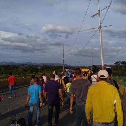 Diario Frontera, Frontera Digital,  COLOMBIA, Internacionales, ,Más de 200.000 personas cruzaron la frontera  colombo-venezolana en las últimas 72 horas