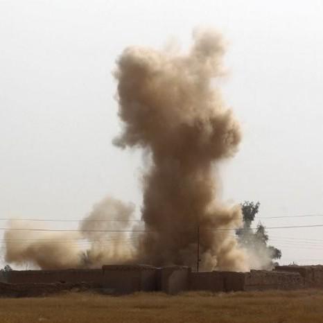 Diario Frontera, Frontera Digital,  BAGDAD, Internacionales, ,Caen varios cohetes cerca de la embajada de EEUU en Bagdad