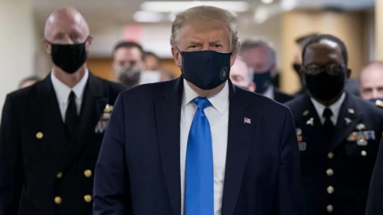 """Diario Frontera, Frontera Digital,  DONALD TRUMP, Internacionales, ,Hospitalizan a Trump como medida de """"precaución"""" tras dar positivo por COVID-19"""