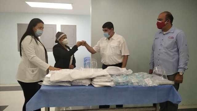 Diario Frontera, Frontera Digital,  HOSPITAL HUGO CHÁVEZ FRÍAS, Salud, Panamericana, ,Nueva dotación de material de bioseguridad  para Hospital Hugo Chávez de El Vigía
