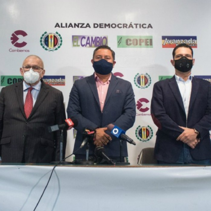 Diario Frontera, Frontera Digital,  ALIANZA DEMOCRÁTICA, Politica, ,Alianza Democrática presenta en Caracas  a sus candidatos para las elecciones del 6D