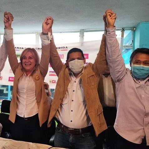 Frontera Digital,  CANDIDATOS CIRCUITO 3, MÉRIDA, Politica,  Alianza Democrática en el circuito 3 de #Mérida  presentó comando de campaña