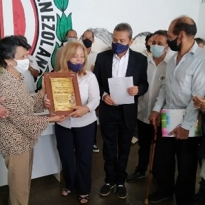 Frontera Digital, Diario Frontera, Adecos merideños rindieron homenaje a Bernardo Aranguren