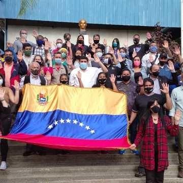 Frontera Digital,  COKANDO DE CAMPAÑA UNIVERSITARIOI, MÉRIDA, Politica,  Juramentado Comando de Campaña  del sector universitario del GPP en Mérida