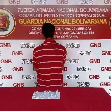 Frontera Digital, Diario Frontera, GNB DETUVO A CIUDADANO AL INCAUTARLE 20 ENVOLTORIOS DE MARIHUANA EN LA PANAMERICANA