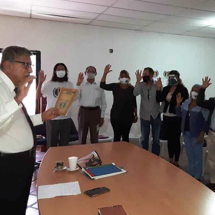 Frontera Digital,  CES AD, MÉRIDA, Politica,  Fue juramentado el CES de AD de Mérida