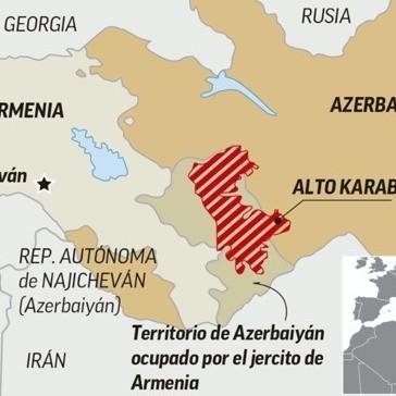 Diario Frontera, Frontera Digital,  Alfredo Portillo, Opinión, ,El concepto de territorio y el conflicto entre Armenia y Azerbaiyán por Alfredo Portillo