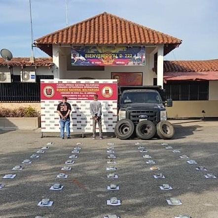Diario Frontera, Frontera Digital,  GNB, Sucesos, ,GNB incautó casi 53 kilos de marihuana en Zea - Mérida