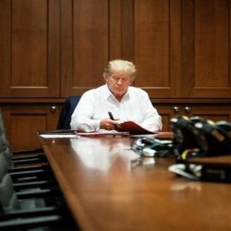 Diario Frontera, Frontera Digital,  DONALD TRUMP, Internacionales, ,Trump recibirá el alta médica esta tarde