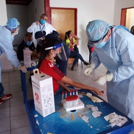 Diario Frontera, Frontera Digital,  VINOTINTO, Deportes, ,Con pruebas rápidas y PCR comenzó el despistaje al contagio por covid-19