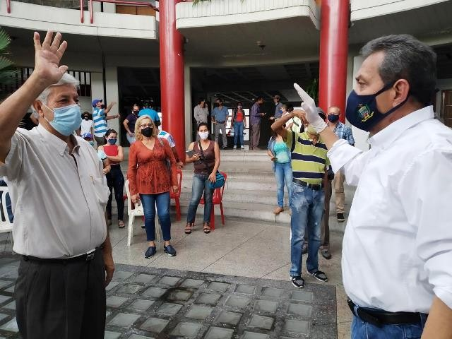 Diario Frontera, Frontera Digital,  MUNICIPIO ALBERTO ADRIANI, EL VIGÍA, PARROQUIA PÁEZ, Panamericana, ,Pedro Varela asumió como nuevo prefecto de la parroquia Páez