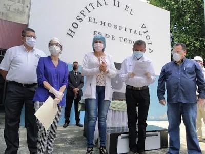 """Diario Frontera, Frontera Digital,  hospital II """"Adán Muñoz Calleja"""", Panamericana, ,Ejecutivo regional entregará  300 millones para la morgue en El Vigía"""